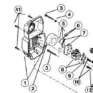 753-04511 MTD RYOBI TROY BILT AIR FILTER + COVER ASSY