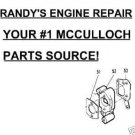 CARBURETOR INSULATOR + GASKETS MCCULLLOCH 510 515 SP40