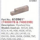 Genuine Tecumseh 610961 Flywheel Key Sears, Toro, Craftsman fits models listed