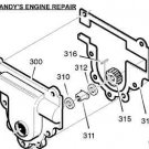 WASHER MURRAY CRAFTSMAN 48275 48275MA SNOW BLOWER PART