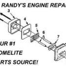 Homelite, Sears, Craftsman up05878, 98784a, 98784 Muffler Exhaust Screen