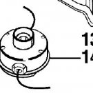 000998361 complete TRIMMER HEAD RYOBI 30cc part