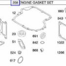 Briggs and Stratton 794150, 796187 Engine Overhaul Gasket Kit Set New Genuine