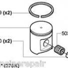 503976171 Husqvarna 51.4mm Piston Assy fits 375K 375 K