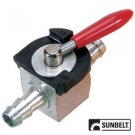"1/4"" Heavy Duty Fuel Gas Shut-Off Valve Steel In-​line Cut-Off A​TV Kart Mower"