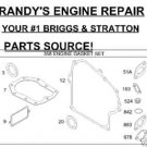 GASKET OVERHAUL KIT WITH SEALS BRIGGS & STRATTON 497070