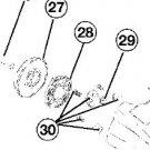 RECOIL STARTER SPRING RYOBI 310BVR 320BVR 340BV