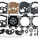 for Homelite 330 with Walbro Carb Kit Carburetor Overhaul Rebuild Repair K10-WAT