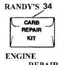 repair kit carb carburetor mcculloch 219107 blowers