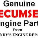 OEM genuine Tecumseh intake port pipe gasket # 35958