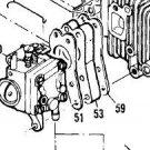carburetor insulator w/gaskets MCCULLOCH CHAINSAW 90713