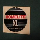 Homelite xl decal