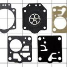 New Genuine Zama Carburetor Carb Gasket Kit # GND-8 For C2 type Sears, McCulloch