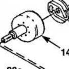 Drum & Connector Homelite up04133, a03485a, a03485b Craftsman Sears trimmer