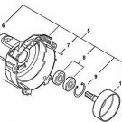 FAN COVER ASSEMBLY ECHO P021009790 fits MODELS LISTED