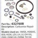 OEM Genuine Tecumseh Carb Carburetor Kit Replace 632760A 632760B 632809  632760