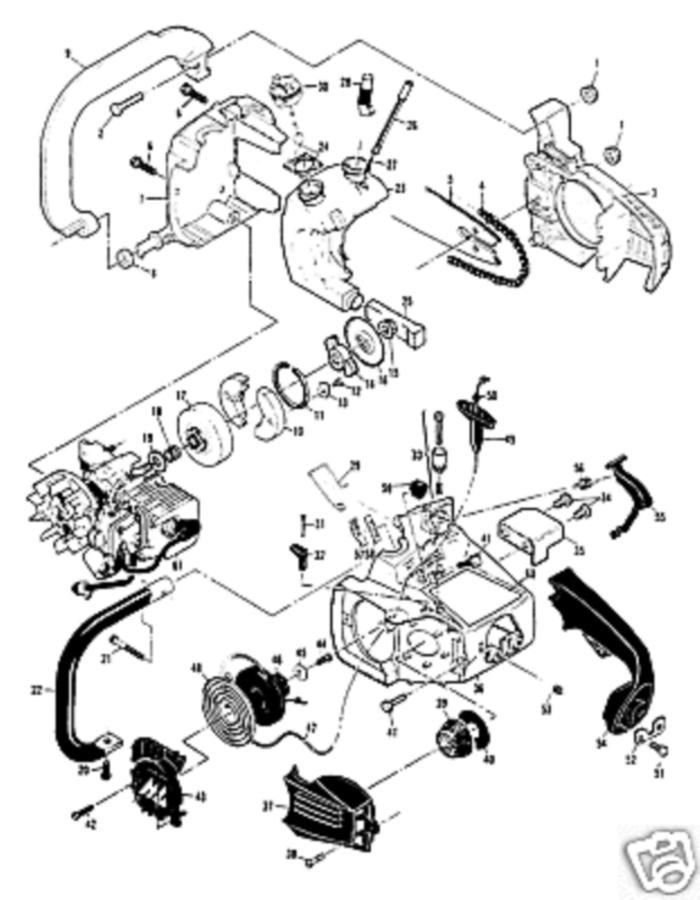 mcculloch 3200 fuel line diagram