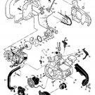 AIR CLEANER COVER 91853 MCCULLOCH MINI MAC 25 30 35 +++