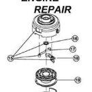 COMPLETE HEAD ryobi MTD trimmer 704R 704RVP YM1000
