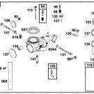 Briggs & Stratton Choke-A-Matic Carburetor Assy # 491029 New w/ mounting gasket