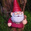 Lrg Gnome w/walking Stick