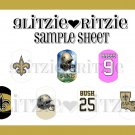New Orleans Saints Dog Tag Images