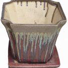 3pc Pottery Planter#6020-21