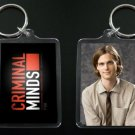 CRIMINAL MINDS Dr. Spencer Reid keychain / keyring MATTHEW GRAY GUBLER