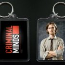 CRIMINAL MINDS Dr. Spencer Reid keychain / keyring MATTHEW GRAY GUBLER 2