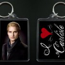 TWILIGHT NEW MOON keychain / keyring I HEART CARLISLE CULLEN Peter Facinelli