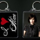 TWILIGHT NEW MOON keychain / keyring I HEART ALICE CULLEN Ashley Greene