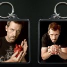 HOUSE MD keychain / keyring HUGH LAURIE Dr Greg House 9