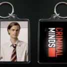 CRIMINAL MINDS Dr. Spencer Reid keychain / keyring MATTHEW GRAY GUBLER 5