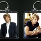 JON BON JOVI 2-sided photo keychain / keyring 4