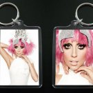 LADY GAGA 2-sided acrylic keychain / keyring Bad Romance #2