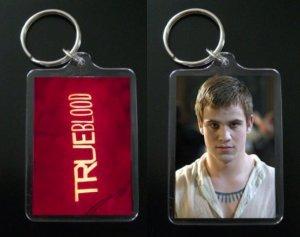 TRUE BLOOD keychain / keyring GODRIC Alan Hyde