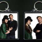 THE MIGHTY BOOSH keychain / keyring VINCE NOIR HOWARD MOON