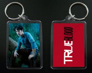 TRUE BLOOD keychain / keyring BILL COMPTON Stephen Moyer