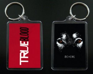 TRUE BLOOD keychain keyring Sookie Stackhouse WEREWOLF