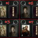 THE WALKING DEAD keychain / keyring DARYL DIXON - CHOOSE FROM 4 DESIGNS