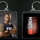 CRIMINAL MINDS keychain / keyring DEREK MORGAN Shemar Moore