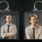 CRIMINAL MINDS keychain / keyring SPENCER REID Matthew Gray Gubler 4