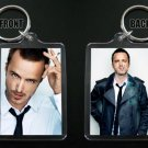 AARON PAUL keychain / keyring BREAKING BAD Jess Pinkman 3