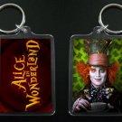 MAD HATTER keychain JOHNNY DEPP Alice in Wonderland