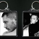 TOM HARDY keychain / keyring INCEPTION, Bronson, BANE 2