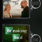 BREAKING BAD keychain / keyring WALTER & SKYLER WHITE Bryan Cranston Anna Gunn
