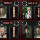 THE WALKING DEAD keychain / keyring MERLE & DARYL DIXON - CHOOSE FROM 4 DESIGNS