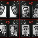 SALVADOR DALI keychain / keyring SURREALISM - CHOOSE FROM 4 DESIGNS