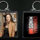 CRIMINAL MINDS keychain ELLE GREENAWAY Lola Glaudini