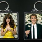 PUSHING DAISIES Ned & Chuck keychain Anna Friel